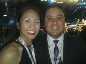 EVP of Golden Boy Promotions Head Matchmaker, Eric Gomez & Me